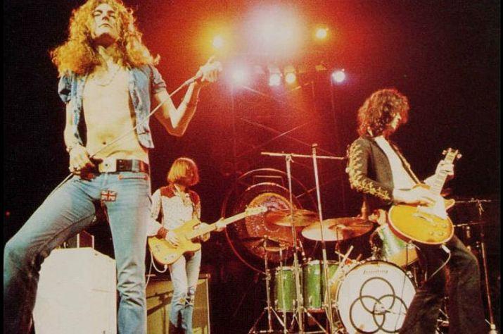 1973 music for Led zeppelin madison square garden