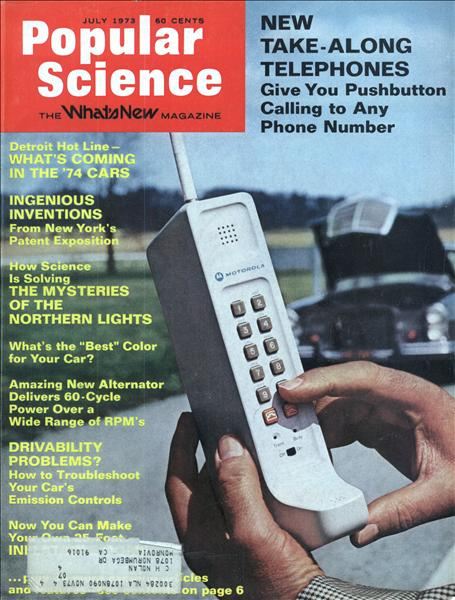 Popular Science Cover July 1973