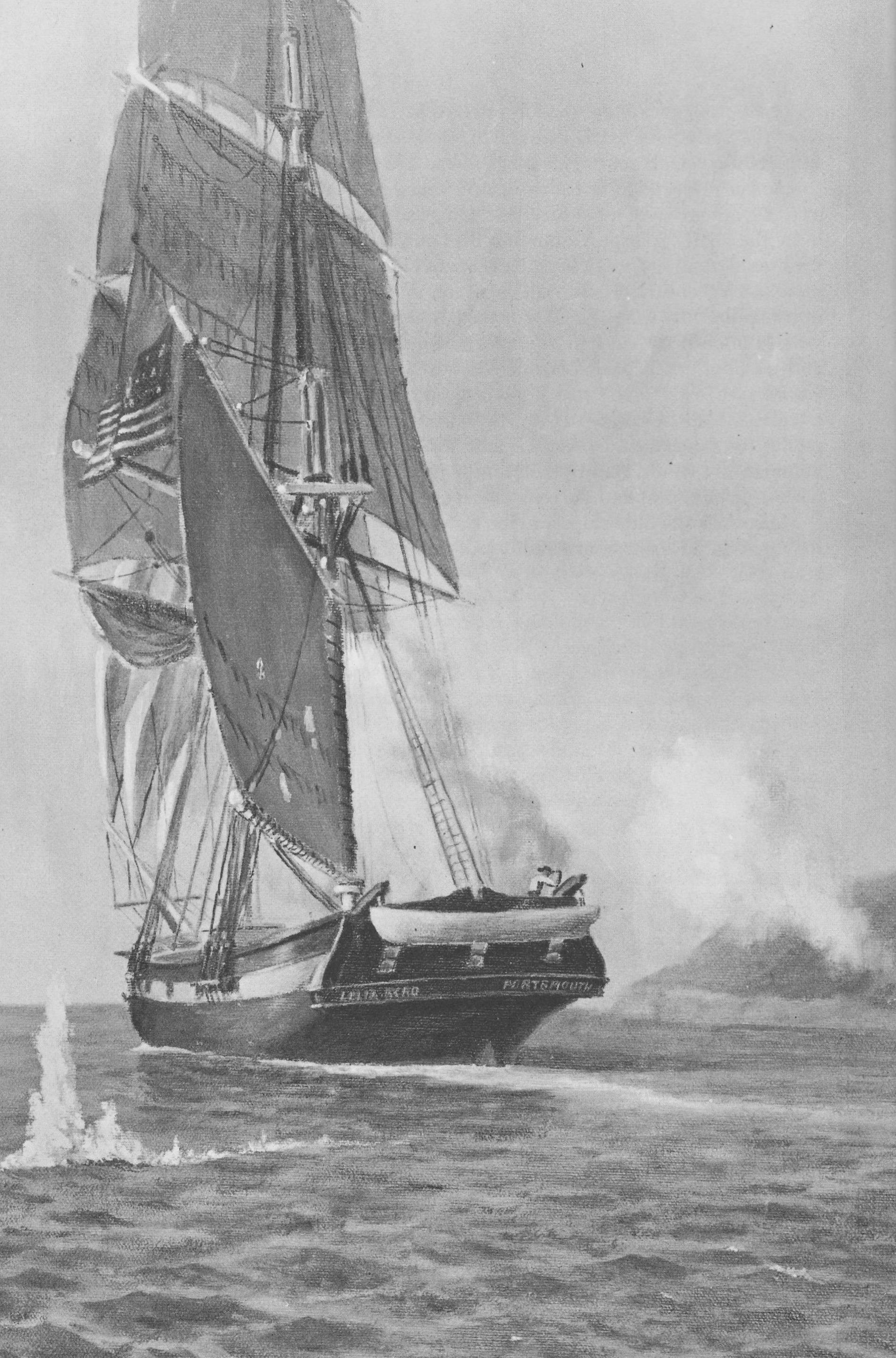 Leila Byrd Sailing from Cannon Fire