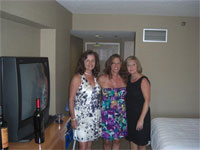 Laurie, Natalie, Kathy